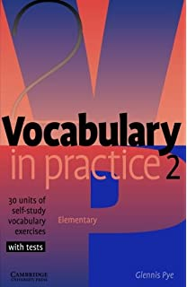 Vocabulary In Practice 1 In Practice Cambridge University Press