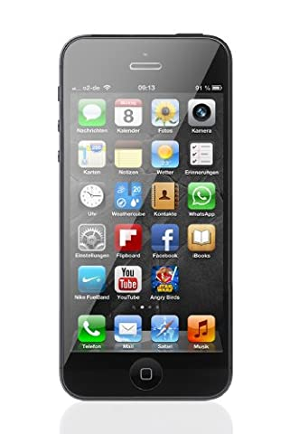 Apple iPhone 5 Unlocked Cellphone, 16GB, Black (Iphone 5 C 16 Gb Unlocked New)