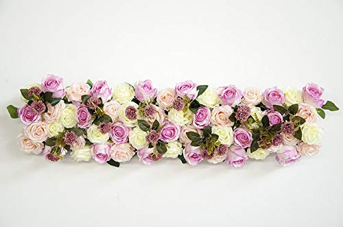 (CoronationSun - Artificial Roses - 1M Wedding Decor Artificial Flower Decor Flower Arch Flower Arrangement Flower 1pc)