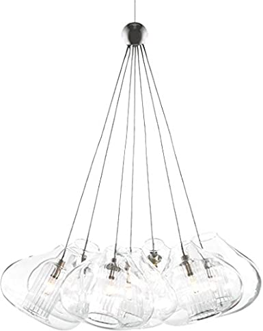 Tech Lighting 700FJCHR7C Cheers 7 Light Chrome Pendant Lighting