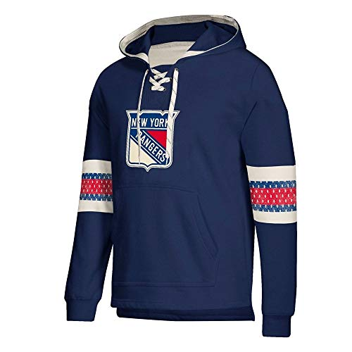 adidas New York Rangers NHL Men's Crossbar Vintage Jersey Sweatshirt