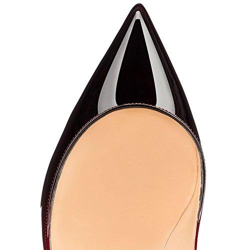 Sexy col tacco EDEFS col Heels High Scarpe donna Tacco Gradient Scarpe Classico 5Hw8U