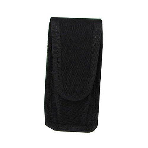 Uncle Mikes Cordura Universal Single Pistol Mag/Folding Knife Case Black