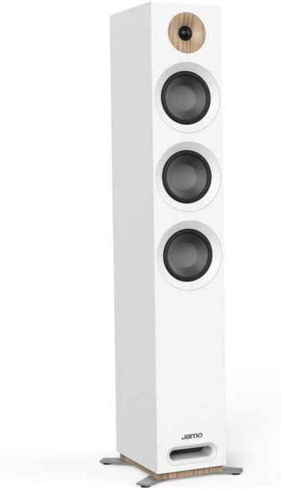 Jamo S 809 240W Blanco Altavoz - Altavoces (Alámbrico, 240 W, 37-26000 Hz, 8 Ω, Blanco)