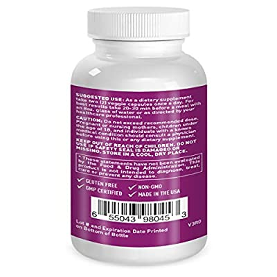 Love Me Nutrition® - Life of The Party - Liver & Kidney Cleanse, Detox & Repair Herbal Formula. Milk Thistle, Dandelion. Digestive Support- Natural No Artificial Ingredients. Non-GMO - 60 Vegi Caps