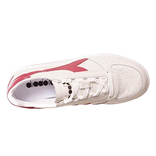 Unisex White B Diadora Scarpe Top Adulto Elite Low Red Tibetan Xx7HAw