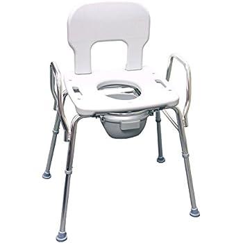 Amazon Com Heavy Duty Commode Shower Chair 62625 500