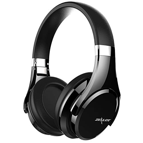 ZEALOT B21 Gestures Control Bluetooth Headphones Over Ear, Hi-Fi Stereo Foldable Wireless Headset w/Mic Comfortable Earpad Earphone for PC/Cellphone/Tablet/Smartphone