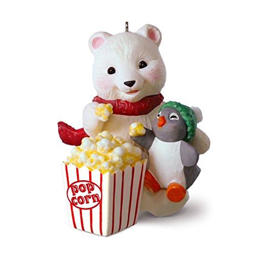 Polar Bear Ornament (Hallmark Keepsake Christmas Ornament 2018 Year Dated, Snowball and Tuxedo Movie)