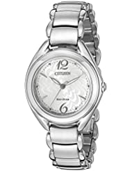 Citizen Eco-Drive Womens FE2070-84A Sihouette Watch