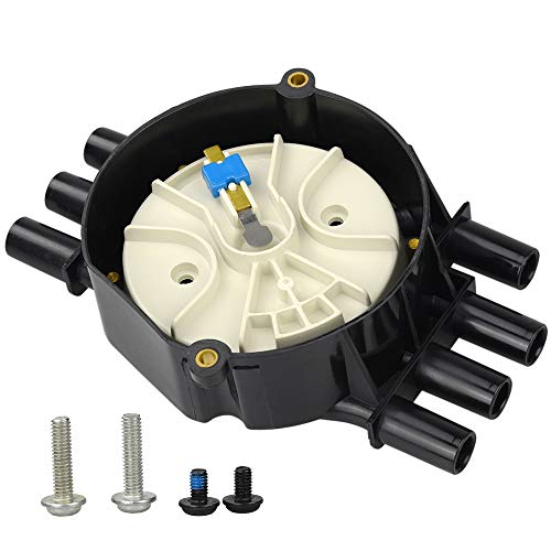 Ignition Distributor Cap Rotor Kit Vortec-6 for Chevy GMC Suburban 00-96 V6 4.3L DR474/ DR331 Brass Terminals