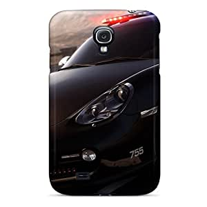 Defender Cases For Galaxy S4, Need For Speed Hot Pursuit Porsche Police Car Pattern
