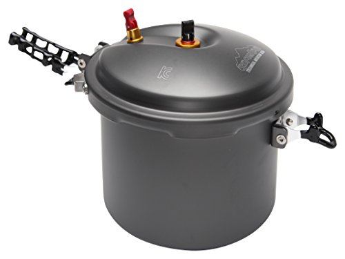 SNOWLINE New outdoor Pressure Cookware (5 Persons), Grey, Large by SnowLine