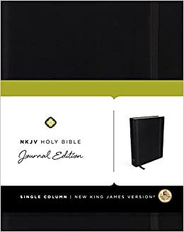 NKJV, Holy Bible, Journal Edition, Hardcover, Red Letter Edition