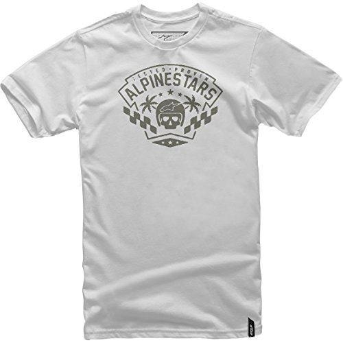 Alpinestars Mens First Order Short-Sleeve Shirt X-Large Silver
