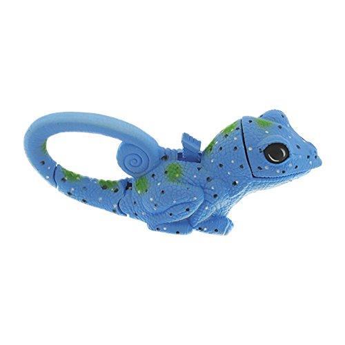 Sun Company Lifelight Animal Carabiner Flashlight - Blue Lizard | Cute Animal Keychain Lights
