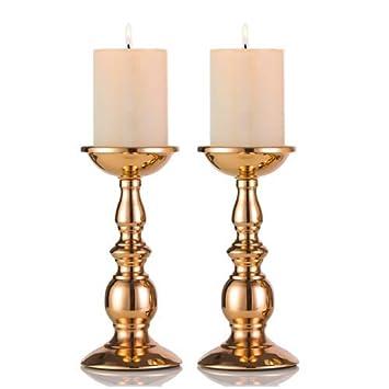 Eisen Saulenstander Kerzenhalter Tischdekoration Kerzenstander Fur