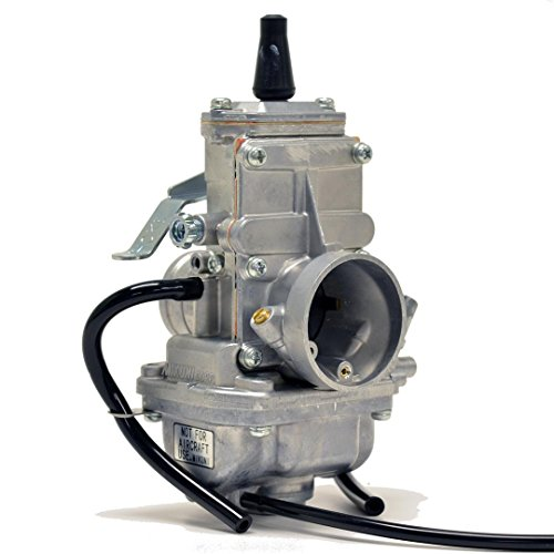 Genuine Real Mikuni 28mm TM28 Flat Slide Performance Carburetor Carb VM28-418 by Niche Cycle Supply - Mikuni Flat Slide