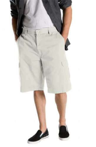 Dickies Men's Big 13 Inch Loose Fit Cargo Short, Khaki, 46