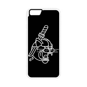 The Dagger iPhone 6 Plus 5.5 Inch Cell Phone Case White Wcvok