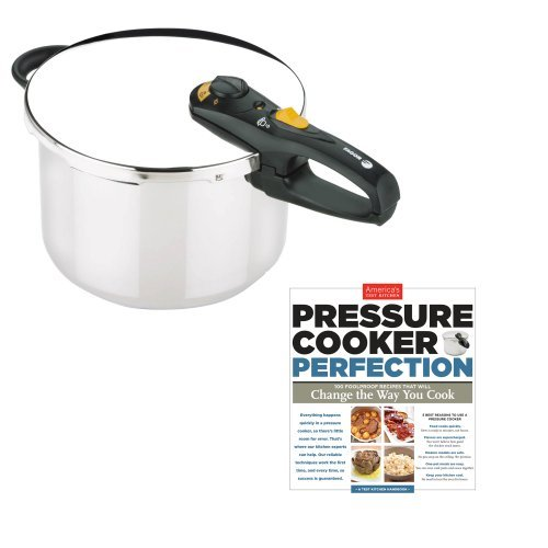 Fagor 8 Qt. Duo w/ America's Test Kitchen 'Pressure Cooker Perfection' Cookbook by Fagor by Fagor