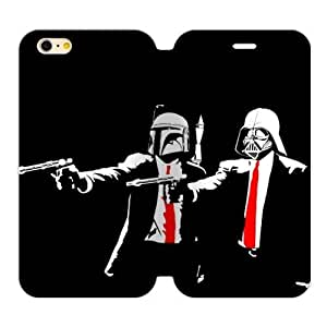 Pulp Fiction Meets Star Wars Handsome Alien Iphone 6 Plus 5.5 Case Shell Cover (Laser Technology)