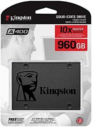 Kingston A400 SSD SA400S37/960G - Disco duro sólido interno 2.5 ...