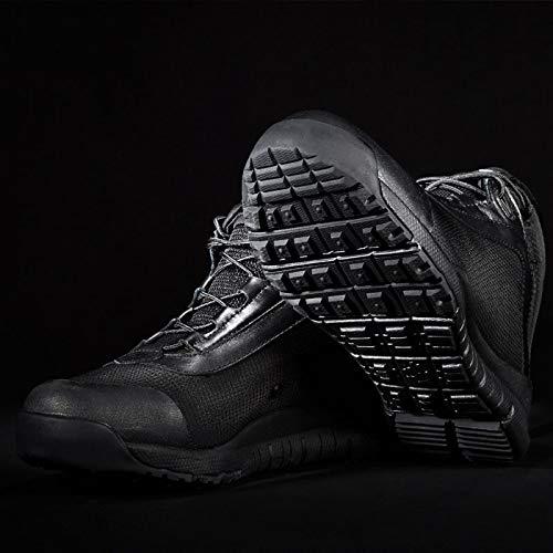 Tattico Uomo Stivali Leggero Speciali Traspirante Top Outdoor Militare Alto Forze all'Usura Escursionismo Black Stivali Resistente d4nqAtrq