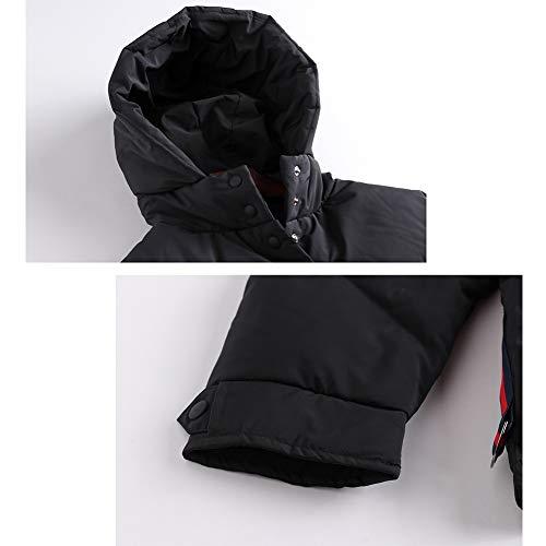 Con Moda Diseño Pluma Capa Black Deportes Y Rstj Invierno Chaqueta Para La Capucha Pato Viajes sjc De Mujer Ligera Blanco Abajo Ideal 4PzxqwvSz