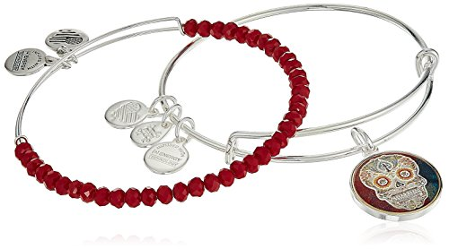 Mexican Set Bracelet - Alex and Ani Art Infusion, Calavera II Set Bangle Bracelet