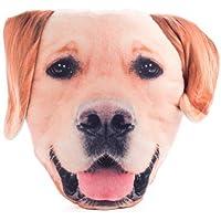 Furever Pets Soft Plush Labrador Dog Head Pillow Cushion