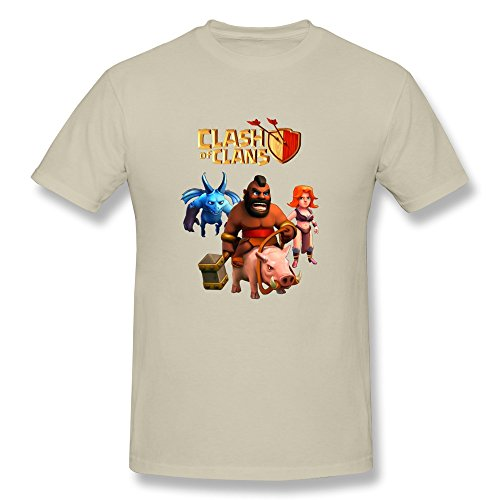 XUEJW Men's Clash Clans Valkyrie Cotton T - Clash Of Clans T Shirt