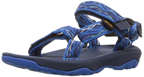 Plain Hurricane - Teva Boys' T Hurricane XLT 2 Sport Sandal, Delmar Blue, 9 M US Toddler