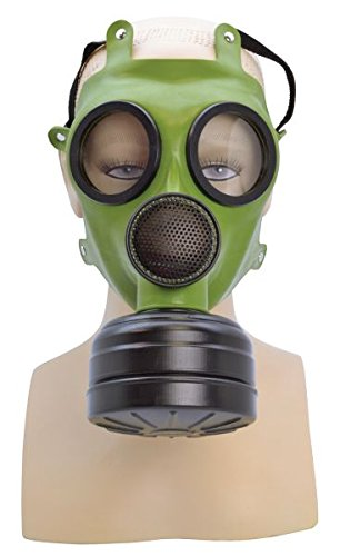 [Realistic WWII Adults Gas Mask] (Halloween Costumes With Gas Mask)