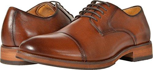 Florsheim Men's Blaze Cap Toe Oxford Cognac Smooth 8.5 D US D (M) (Florsheim Montinaro Mens Leather Cap Toe Oxfords)