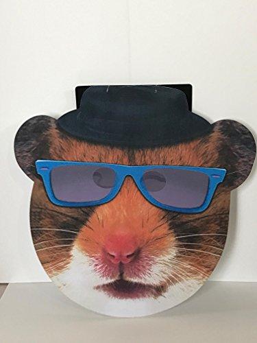 Hamster Masks (Halloween Mask (Hamster with Glasses))
