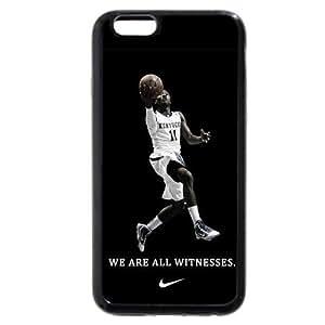 Onelee(TM) - Customized Black Soft Rubber TPU iPhone 6 Plus 5.5 Case, NBA Superstar Washington Wizards John Wall iPhone 6 Plus 5.5 Case