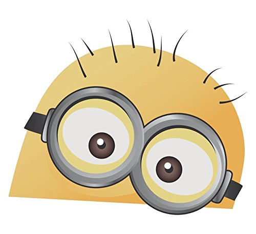 Evan Decals MINION Window Decal Vinyl Sticker 5