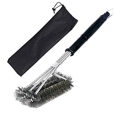 BBQ Grill Brush,Stainless Steel