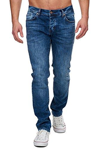 TAZZIO Slim Fit Herren Stretch Jeans Hose Denim 16531