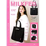 MILKFED. SPECIAL BOOK 5-Pocket Big Bag BLACK