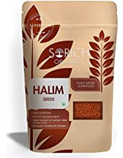 Sorich Organics Halim Seeds - 400 Gm - Garden Cress Seeds/Aliv Seeds - Immunity Booster Superfood