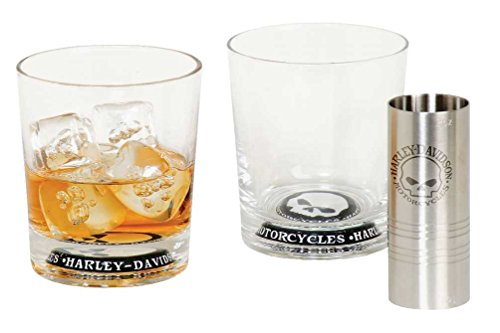 harley-davidson-willie-g-skull-tumbler-glass-set-10-oz-tumblers-hdl-18758
