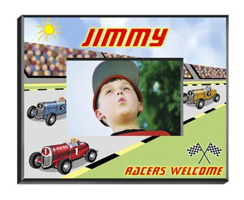 (Personalized Race Car Driver Picture Frame)