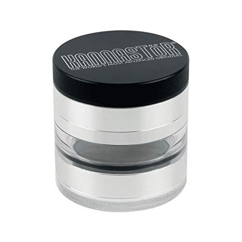 Kannastor SKJ-M4-25 herb grinder, 2.5 inch, Silver