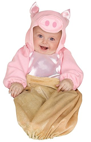 Fun World Pig in a Blanket Infant Costume One-Size (fits up to 9M) -