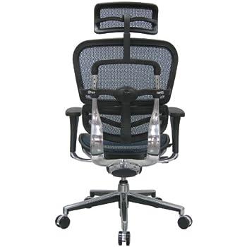 this item eurotech ergohuman mesh ergonomic chair w headrest - Ergohuman