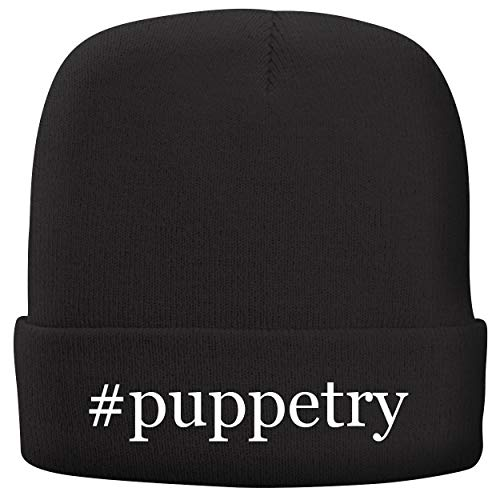 BH Cool Designs #Puppetry - Adult Comfortable Fleece Lined Beanie, Black ()