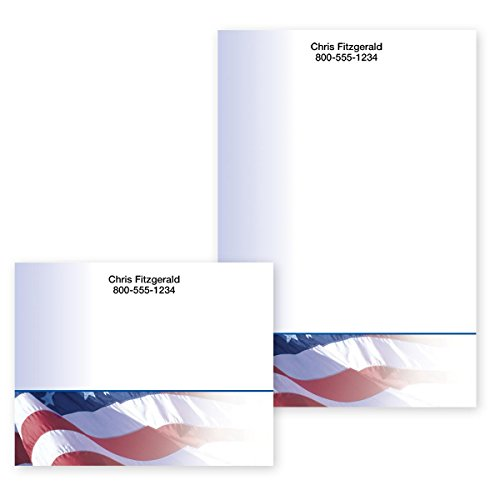 - American Flag Personalized Post-it Notes - 4