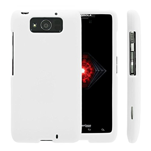 TurtleArmor | Compatible with Motorola Droid Maxx Case | Droid Ultra Case [Slim Duo] Ultra Compact Hard Snap On Case Slim Matte Cover on White Gamble Casino - White